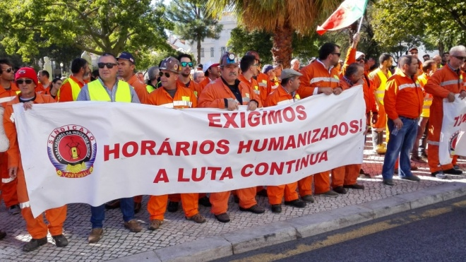 Trabalhadores da SOMINCOR avançam novamente para a greve