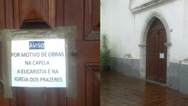 """Obras na Capela Episcopal de Beja geram """"polémica"""""""