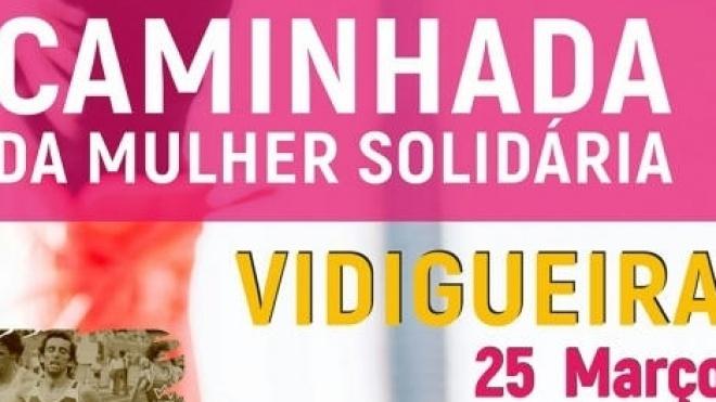 Caminhada da Mulher Solidária em Vidigueira