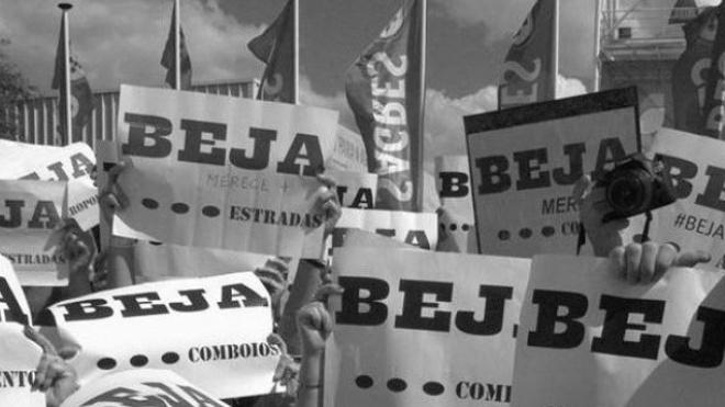 "Beja Merece+ recebe António Costa ""vestido de negro"""
