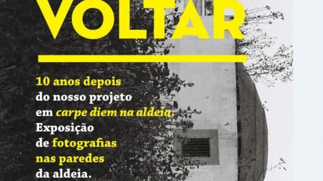 """Cabeça Gorda convida a visitar a exposição """"Voltar"""""""