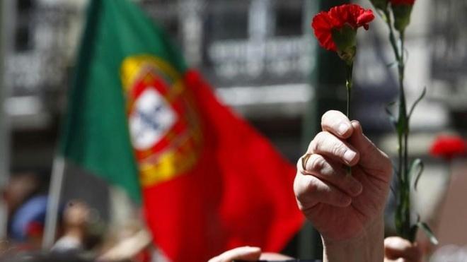 25 de Abril de 1974 é comemorado em todo o distrito