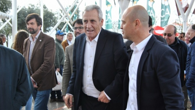 Jerónimo de Sousa visita 36ª Ovibeja