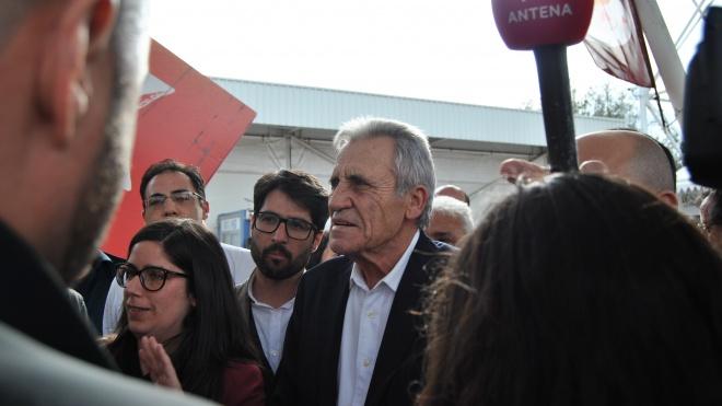 Jerónimo de Sousa acompanha reunião do PCP do distrito