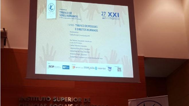 """Conferência sobre """"Tráfico de Seres Humanos"""""""