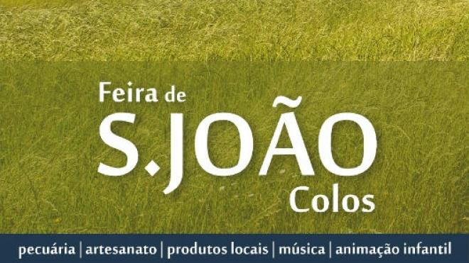 Feira de S. João anima Colos até domingo