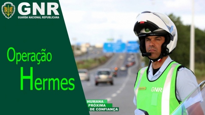 """Operação """"Hermes -Viajar em Segurança"""""""