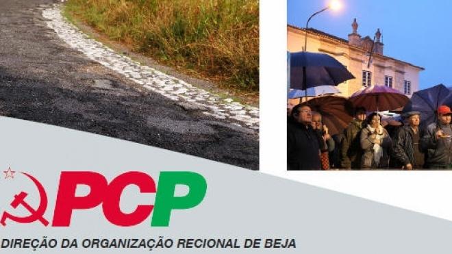 DORBE do PCP promoveu conferência de imprensa na A26/IP8