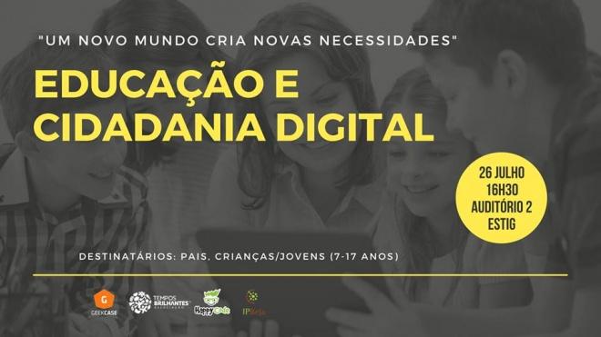 Workshop de Educação e Cidadania Digital na ESTIG