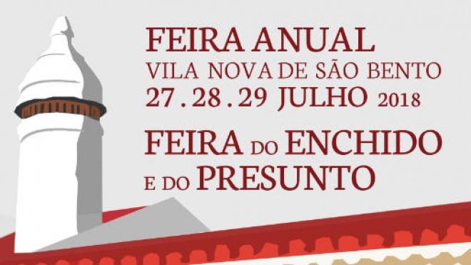 III Feira do Enchido e do Presunto em Vila Nova de São Bento
