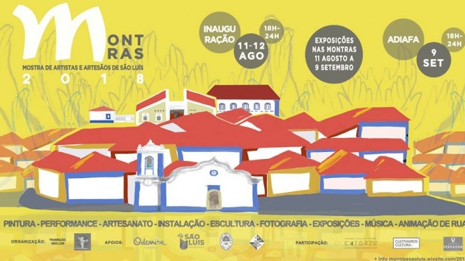 4ª edição das Montras – Mostra de Artistas e Artesãos de São Luís