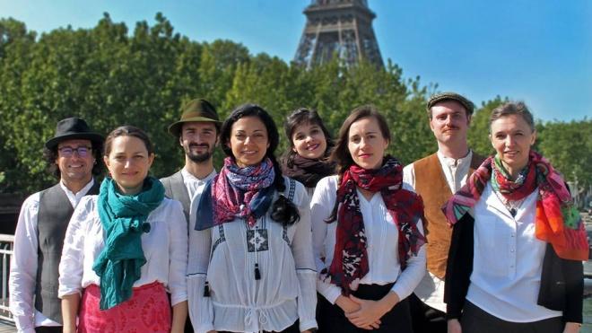 Cantadores de Paris gravam CD em Serpa