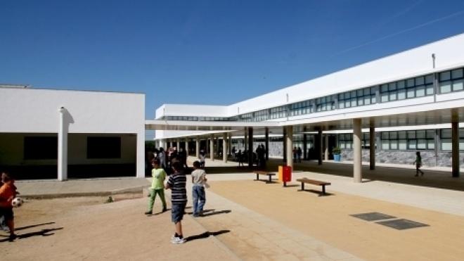 Obras na Escola Frei António das Chagas em Vidigueira