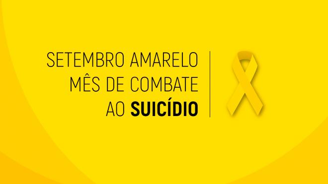 """""""setembro amarelo"""" propõe colóquio """"Noticiar o Suicídio"""""""