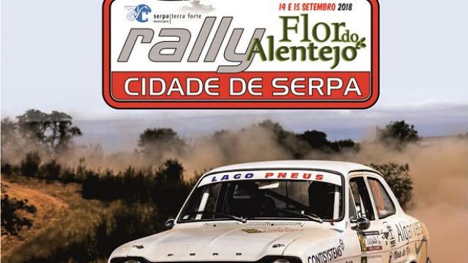 Rali Flor do Alentejo apresentado em Serpa