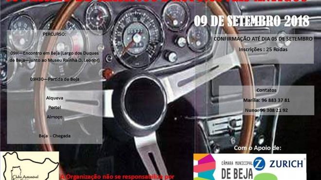 VI edição do Passeio de Carros Clássicos em Beja