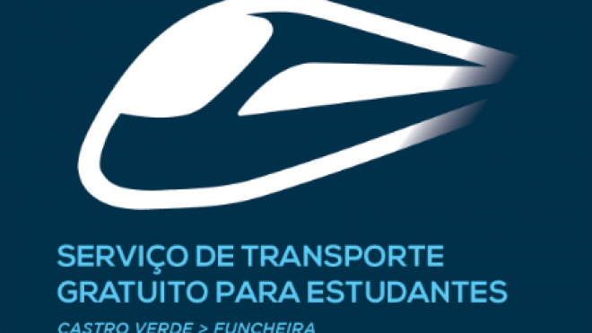 Castro Verde retoma transporte gratuito para estudantes