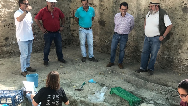 Vestígios arqueológicos descobertos em Castro Verde
