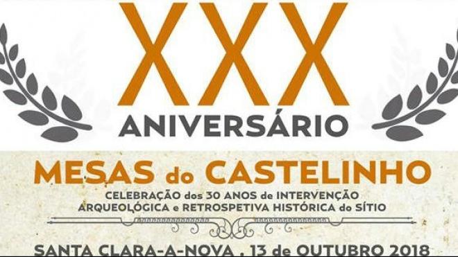 XXX aniversário Mesas do Castelinho