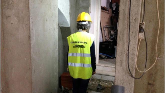 Câmara de Moura faz reabilitação em edifícios do centro histórico