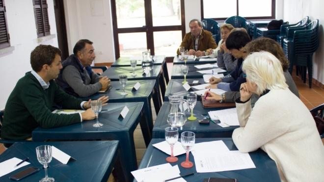 Reunião junta Amigos das Fortes e Grupo Migasa