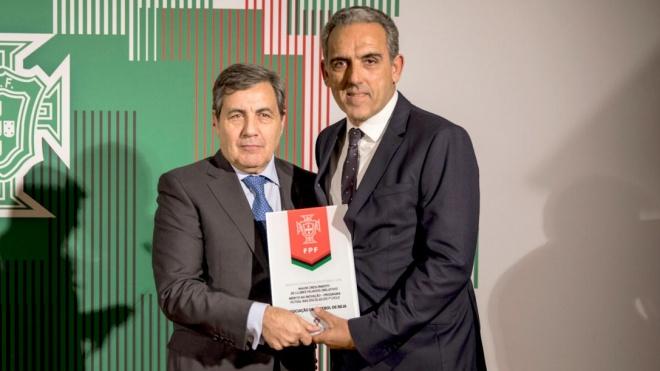 AFB distinguida pela Federação Portuguesa de Futebol