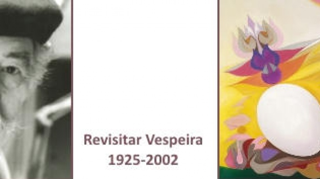 """Aljustrel: exposição de pintura """"Revisitar Vespeira"""""""