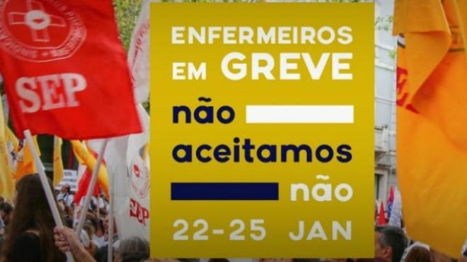 Greve dos enfermeiros termina no Alentejo, Algarve e Açores