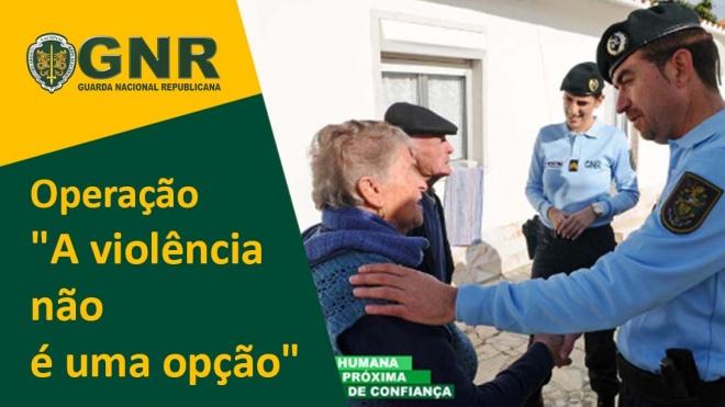 """GNR: Operação """"A violência não é uma opção"""""""