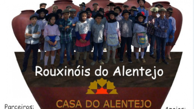 Rouxinóis do Alentejo atuam hoje na Casa do Alentejo em Lisboa