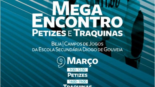 Mega Encontro de Petizes e Traquinas neste sábado em Beja