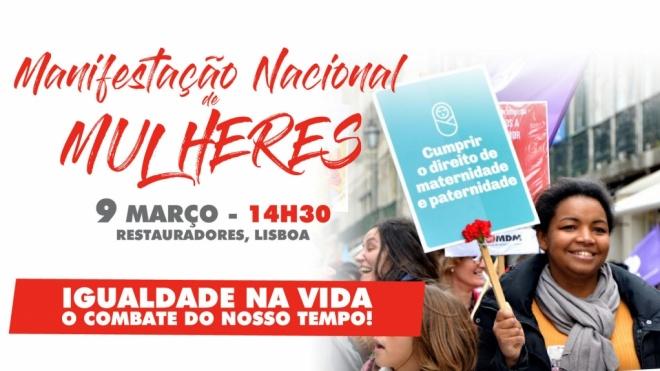 MDM realiza hoje manifestação em Lisboa para dar voz aos problemas das mulheres