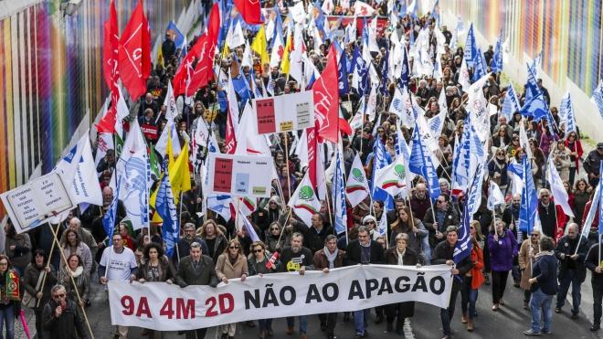 Professores manifestam-se hoje em Lisboa