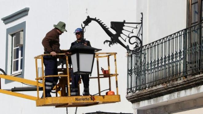 Câmara de Serpa reforma a iluminação pública com luminárias LED