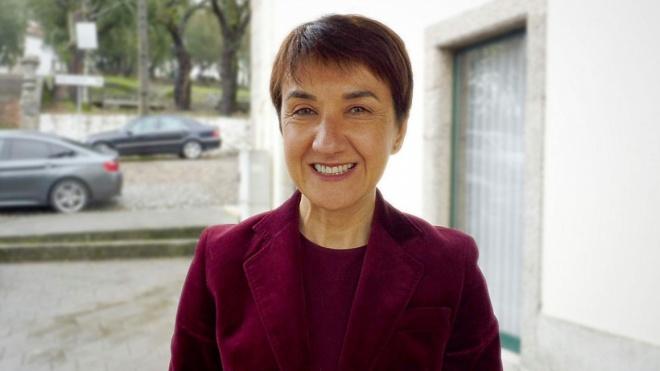 A secretária de Estado do Desenvolvimento Regional em Castro Verde