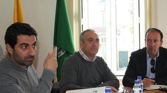 Executivo da Câmara de Serpa em Vila Nova de São Bento