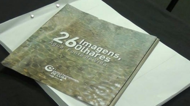 """É apresentado hoje o livro """"26 Imagens, 26 Olhares – Água Fonte de Vida"""""""