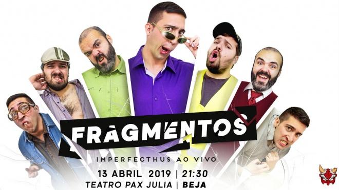 """""""Fragmentos"""" é a proposta que pode ver hoje no Pax Julia em Beja"""