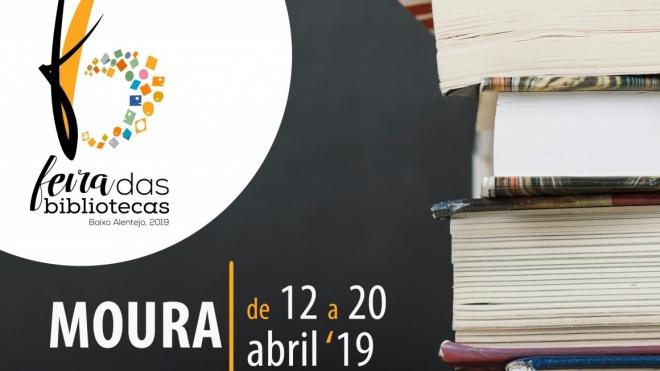 """Moura recebe """"Feira das Bibliotecas"""" de 12 a 20 deste mês"""