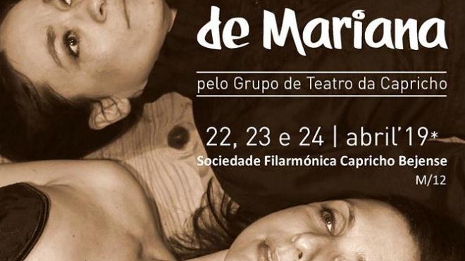 """Nus olhos de Mariana"" na Capricho Bejense"
