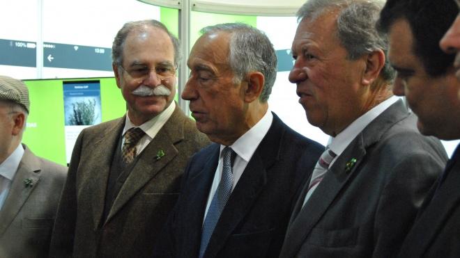 """Presidente da República admira """"luta e resistência"""" das pessoas da região"""