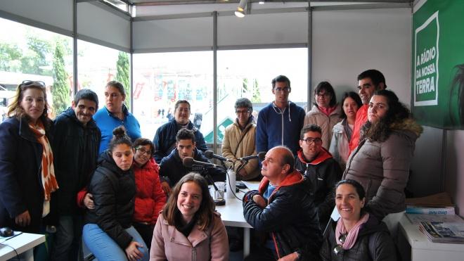 Grupo Auto-representação da Cercibeja de visita à Ovibeja