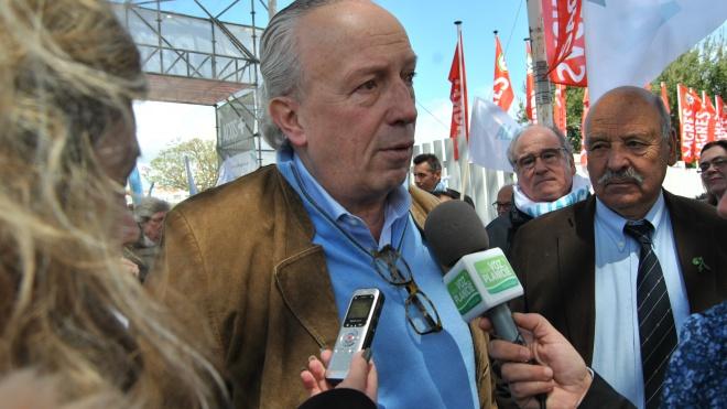 """Santana Lopes diz que a """"Ovibeja é um bastião para o país todo"""""""