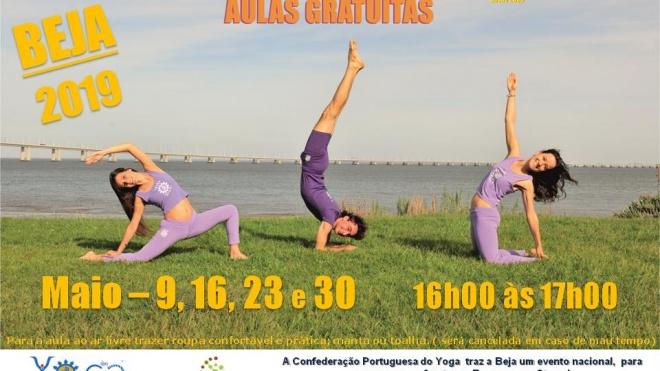 """""""Yoga e Exames sem Stress"""" no IPBeja durante o mês de maio"""
