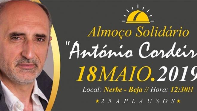 Almoço solidário de aniversário do ator António Cordeiro com casa cheia