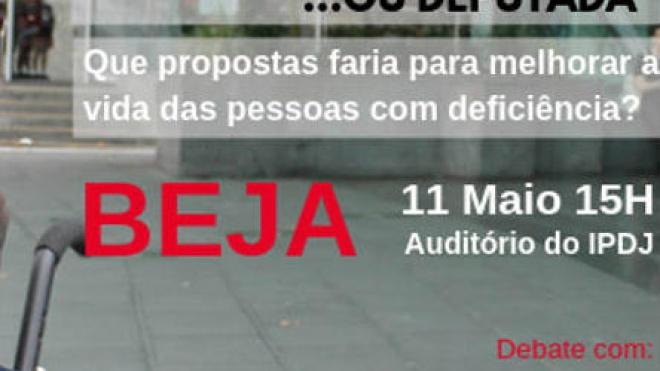 Deputado do BE Jorge Falcato está hoje em Beja