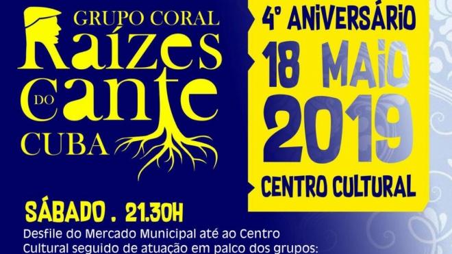 4º Aniversário do Grupo Coral Raízes do Cante de Cuba