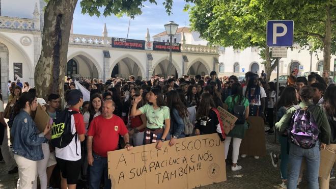 Greve Estudantil Mundial Pelo Clima também se realizou hoje em Beja