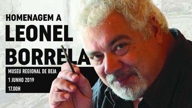 Câmara de Beja homenageia hoje o artista da cidade Leonel Borrela