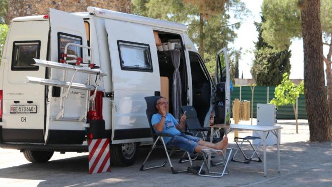 O Parque de Campismo de Serpa já reabriu depois de ter sido sujeito a obras